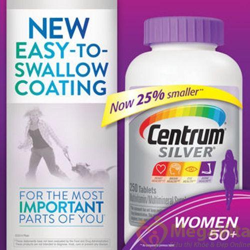 Thuốc centrum silver ultra women's 50+ có tốt không? giá bao nhiêu?