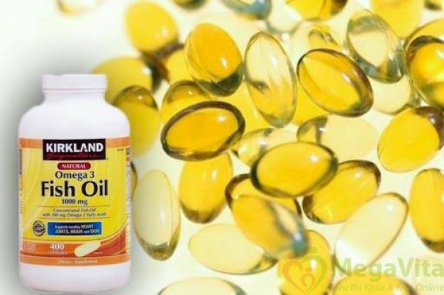 Dầu cá bổ sung omega 3 kirkland signature fish oil có tốt không?