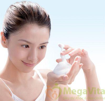 Sữa rửa mặt enzyme dạng bọt dưỡng trắng da vcx100 perfect wash nhật bản 120g