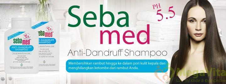 Dầu gội trị gàu, giảm rụng tóc sebamed anti dandruff shampoo của Đức 200ml