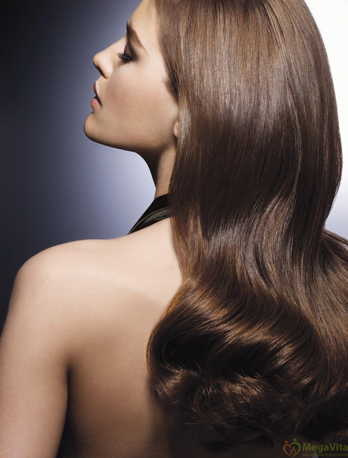 Bộ dầu gội và dầu xả ogx thick and full biotin and collagen làm dày và mượt tóc của mỹ