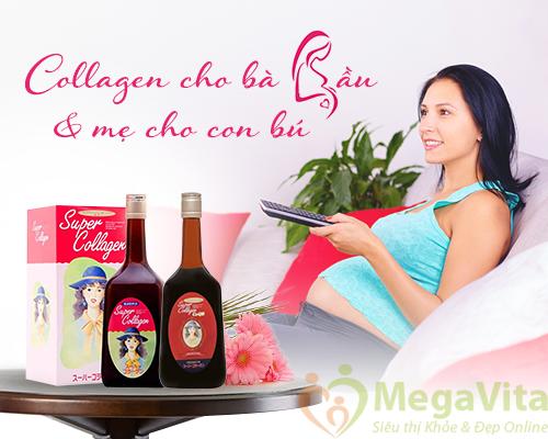 Collagen dành cho bà bầu và mẹ cho con bú