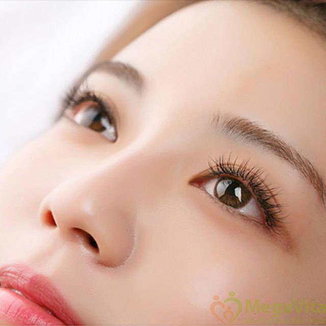 Viên bôi trị quầng thâm mắt, chống nhăn, dưỡng da quanh mắt trẻ trung janmarini age intervention dark circle eye defense của mỹ hộp 60 viên