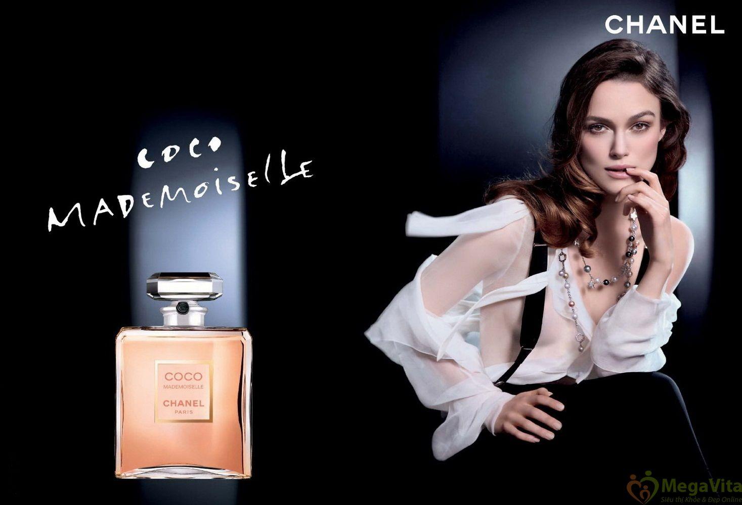 Nước hoa nữ hương hoa cỏ sang trọng, tinh tế chanel coco mademoiselle eau de parfum của pháp chai 100ml