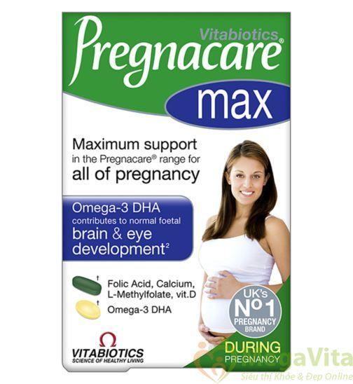 Cách sử dụng vitamin bà bầu pregnacare max